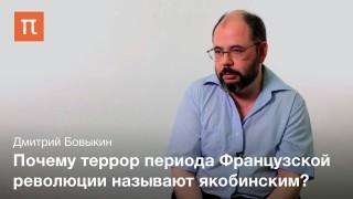 Якобинский террор во Французской революции конца XVIII в.