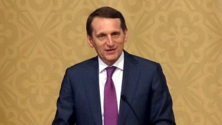 Поздравительное слово председателя РИО, спикера Госдумы РФ С.Е. Нарышкина
