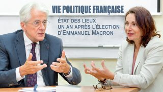 Лекция Паскаля Перрино и Анн Мюксель «Vie politique française, état des lieux un an après l'élection d'E.Macron»