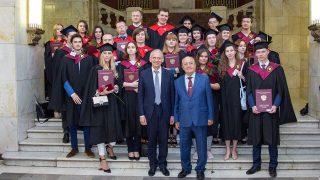 Вручение дипломов с отличием выпускникам исторического факультета (2019 год)