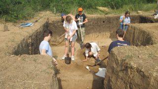 Археологические исследования Каменной балки II в 2019 году