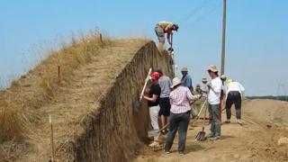 Раскопки скифского могильника Новозаведенное – III в 2019 году