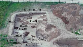 Исследование городища Танаис и его некрополя в 2019 году